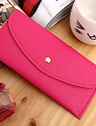 Women's Fashion Leather Simple  Wallets