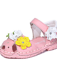 Baby Shoes Dress  Sandals Pink/White