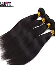 """1pc / lot 8 """"28"""" malaysisches reines Haar natürliches schwarzes gerade 6a unverarbeitete remy Menschenhaar bündelt Königinhaarpflegemittel"""