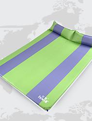 Colchón Inflable ( Verde/Azul )- A Prueba de Humedad/Impermeable - de Poliéster