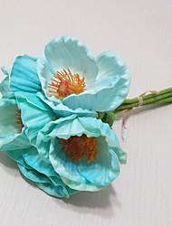 Plástico / Gel de Sílice Others Flores Artificiales