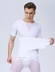 Sexy Men Corset Men Slim Body Shaper Waist Abdomen Underwear Slimming Shirt Gym Tank Top Bodybuilding Fashion Shirt