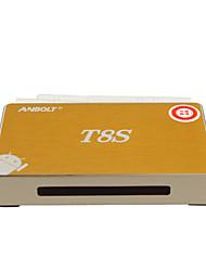 Smart TV BOX Anbolt T8S RK3128 4K 1+8G Black Color EU With Package