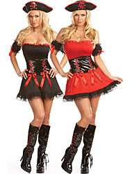 Costumes - Pirate - Féminin - Halloween/Carnaval - Robe/Chapeau