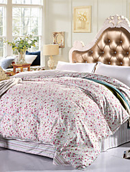 AIWODE® 100% Cotton Queen Duvet Cover Comfortble for Single or Double Bed Size