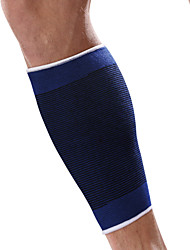 Ollas Unisex Outdoor Fitness Blue Fine Cotton Legs Protective Gear High Elastic Knitting Calf Supporter S9552
