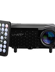 uhappy® U18 офиса и дома использовать портативные мини видеопроектор для андроид и IOS - черный