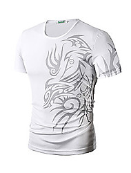 Team Printed T Shirts Men Short Sleeve Sport Man T-Shirt O Neck Top Tees