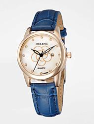 люксовый бренд гарантия женские часы 1 год Япония движение натуральная кожа 3d цветы циферблат дизайн водонепроницаемый