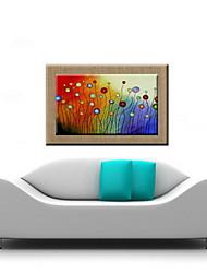 peintures à l'huile un panneau moderne abstraite lin naturel prêt à accrocher peints à la main