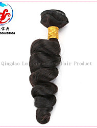 5A LXBD 2015 Hot Sale Natural Colour Loose Wave Virgin Malaysian Hair Weave