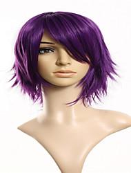 cosplay peruca de cabelo da moda cabelo curto reta perucas perucas sintéticas estilo de moda
