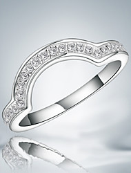 New arrival lady durable casual wedding ring