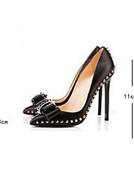 Stiletto - 10-12cm - Damenschuhe - Pumps/Heels ( PU , Schwarz )