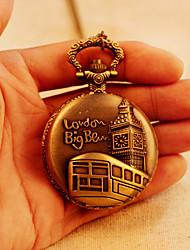 colar de assistir a grande moda ben bolso da antiguidade do vintage steampunk londres relógios mulheres relógios analógicos quarzt