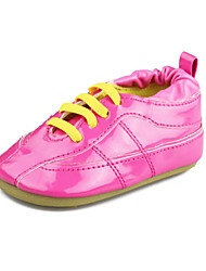 Baby Boys Girls Shoes Outdoor Patent Leather Oxfords Black/Blue/Pink/Purple/Red/White