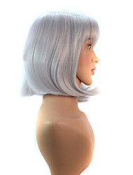 New Style Fashion Cosplay Grey Short Hair Wigs Synthetic Hair Wigs