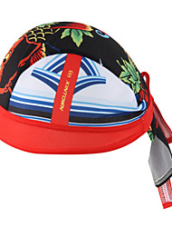 WEST BIKING® Unisex Soft Breathable Bicycle Cap Red Carp Polyester Pirate Kerchief UV Sunscreen Cycling Accessories