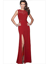 Women's Long Split Prom Party Maxi Evening Dress