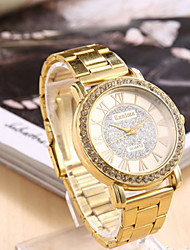 monicv fahion pulseira de metal relógio