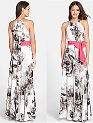 Nikki  Women's Casual/Party Sleeveless Dresses (Chiffon)