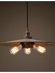 Industrial LOFT Antique Rust 3-light Pendant Light