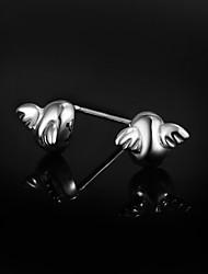 venda da promoção bonito / partido / ocasional prata esterlina brincos de presente para os amantes