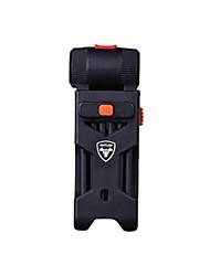 WEST BIKING® Bicycle Foldable Lock 0.75M Snake Design Steel Lock Cycling Anti-hydraulic Shear Locks Portable Alarm