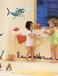 настенные наклейки наклейки для стен, мультфильм В поисках Немо Акула пвх наклейки