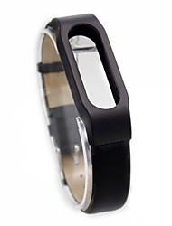 pulseira de couro substituível para Xiaomi pulseira relógio inteligente