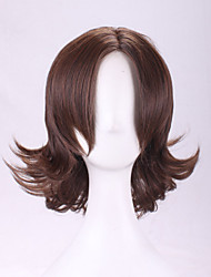 peruca de cabelo cosplay moda cabelo curto onda perucas estilo de moda perucas sintéticas