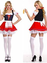 Beautiful Oktoberfest Female Maid Uniforms