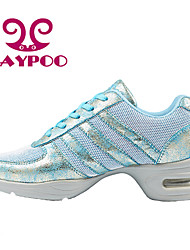Sapatos de Dança ( Preto/Azul ) - Mulheres - Não Personalizável - Sapatilhas de Dança/Moderno/Ginástica