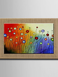 Oil Painting Modern Abstract Hand Painted Natural linen with Stretched Frame