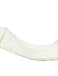 Outdoor Wooden Hammock Bump Cotton Mesh Belt With Cotton Stick Swing Hammock Bold Rod AT6720