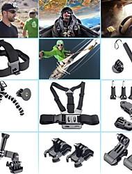 GoPro kit accessoire 8 en 1 pour GoPro Hero 4 3+ 3 2 1 caméra