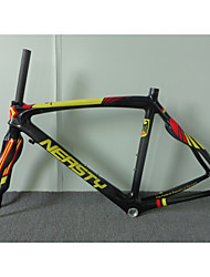 RB-NT28+FK-NT28 Neasty Brand 2016 New Design 700C Full Carbon Fiber Frame and Fork 3K/12K  Weave Red Yellow
