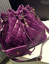 Handcee® Fashion and Simple Design Woman PU Quilted Lady Shoulder Bag