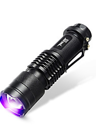 TanLu LED Flashlights/Torch / Handheld Flashlights/Torch LED 20 Lumens 1 Mode LED 14500Adjustable Focus / Rechargeable / Ultraviolet