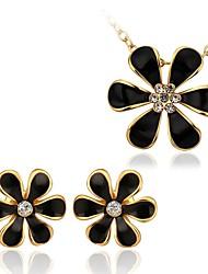 Collar/Pendiente ( Baño en Oro Rosa/Diamante Sintético/Baño en Oro )- Fiesta/Trabajo/Casual para Mujer