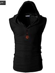 Gilet sans manches mode hotte sim veste décontractée coréen d'été de style de jesunlom®man tout match t-shirt