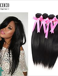 """8 """"-30"""" serica di estensione dei capelli di vendita diretto della fabbrica migliore colore naturale diritto brasiliano umano"""