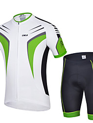 Cycling Jersey + shorts Quick Dry Breathable Clothing Bike Wear
