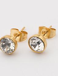 The Bride Stainless Steel Earrings
