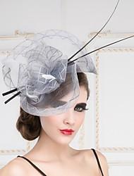 Women's Flax Headpiece - Special Occasion/Outdoor Fascinators/Hats 1 Piece