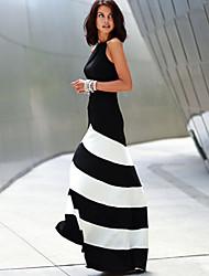 NUNEU  Women's Sexy Round Dresses (Knitwear)