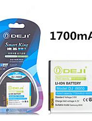 de ji hoher Kapazität 3.8V 1700mAh Li-Ionen-Akku für Samsung Galaxy S i9000