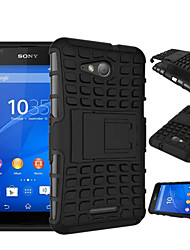 Hybrid Dual Layer Armor Rugged Kickstand Case  Armor Shock Proof Cover For Sony Xperia E4G/Z4/Z3/Z2/Z3 Mini/Z4 Mini