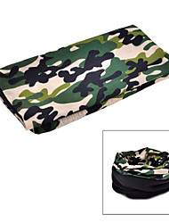 NUCKILY Outdoor Fleece Scarf Variety Dark Green Camouflage