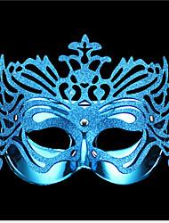 4 couleurs venise carnaval reine paillettes masque de partie de mascarade femmes bleues